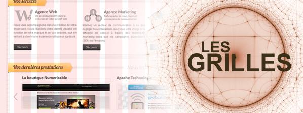 Les grilles et le Webdesign