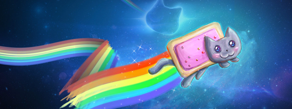 Nyan Cat sur Google Images