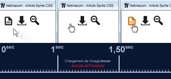 Exemple d'effet au survol d'une image lien standard