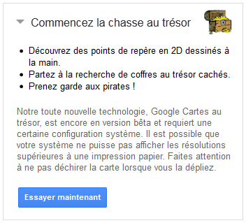 Google Chasse au trésor