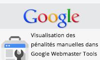 Pénalités manuelles Google